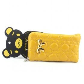 Promotions!! Hot Sale High Fashion Yellow Bear Cellphone Case Wallet/mobile Phone Case/cellphone Bag/wallet