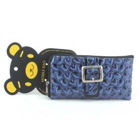 Promotions!! Hot Sale High Fashion Dark Blue Cellphone Case Wallet/mobile Phone Case/cellphone Bag/wallet
