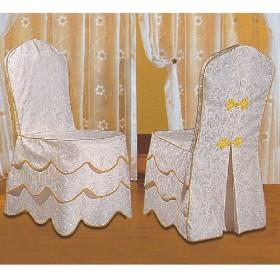 wholesale white and lace with yellow embroidery decorative meeting