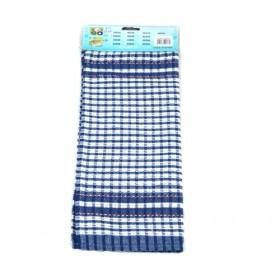 39 63cm Blue And White Plaid Single Piece Wiping Cloth