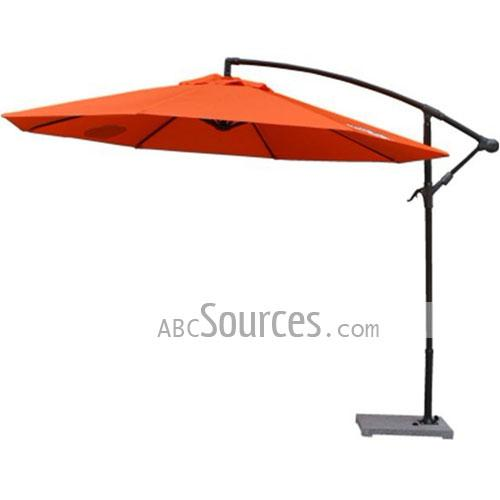 Nthe Whole Orange Patio Umbrellas Using The Finest Materials Umbrella Bone Has A Good Wind Resistance Fabric Processed By Color Fixing