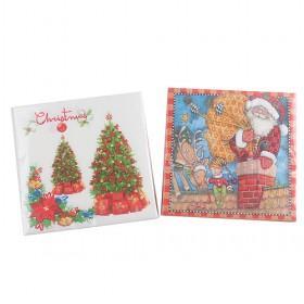 nice cartoon prints christmas napkin papers - Christmas Wholesale