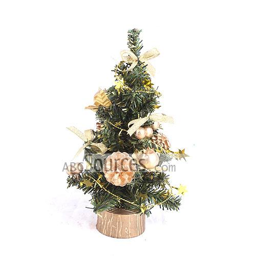 Popular Design 8 Gold Fully Decorated Christmas Tree