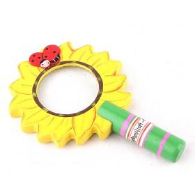 Wood Sunflower Magnifier