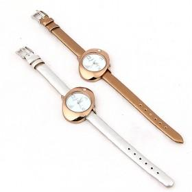 Fashionable Design Golden And Silver Twins Special Design Quartz Watch