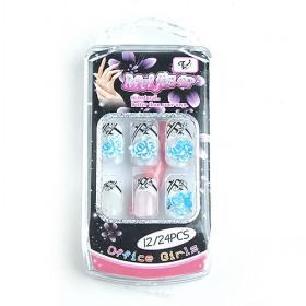 Unqiue Cool Colorful Fake Nail Set