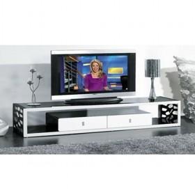wholesale White And Black Simple Design Popular TV Cabinet Tv