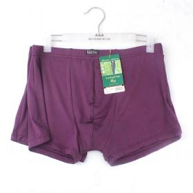 High Quality Men 's Purple Underwear Boxers Briefs Cotton Underwear Man Underwear Boxer Shorts