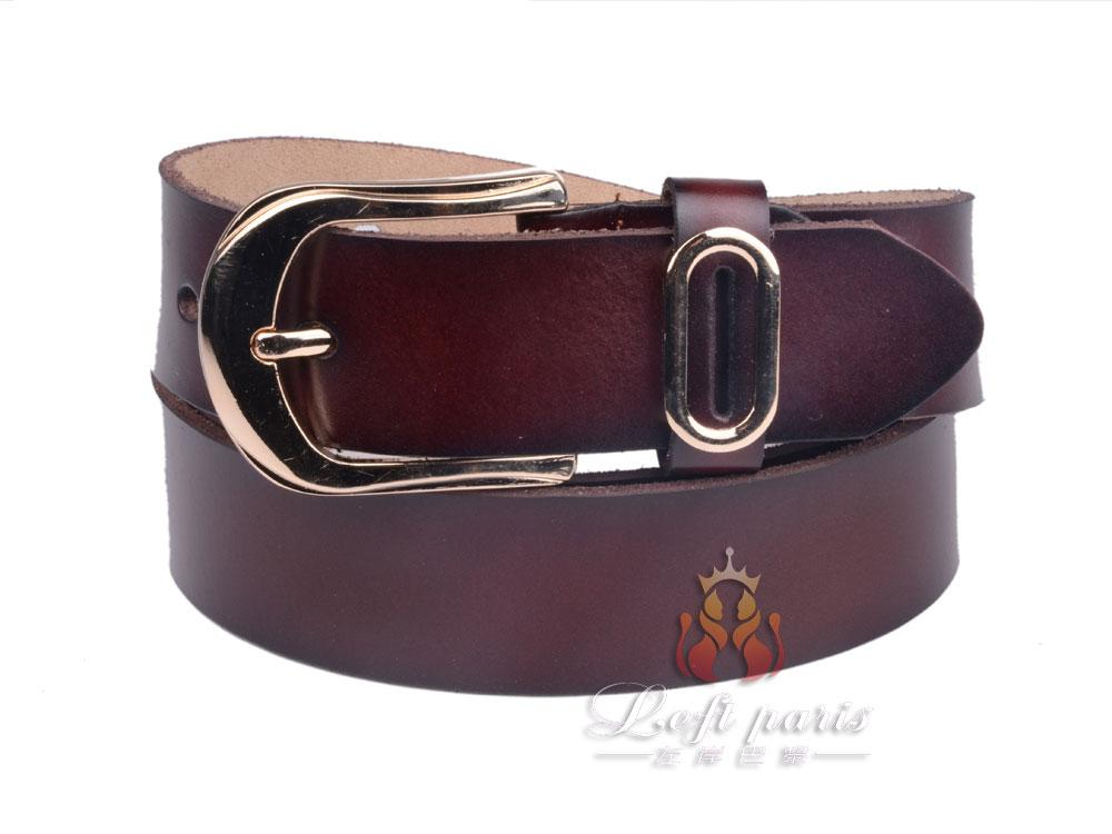 Women Belt with Alloy Buckle