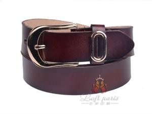 Fashionable Female Tablet Belt with Pin Buckle