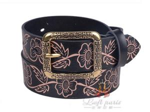 New Womens Vintage 100 Genuine Leather All-Match Belt