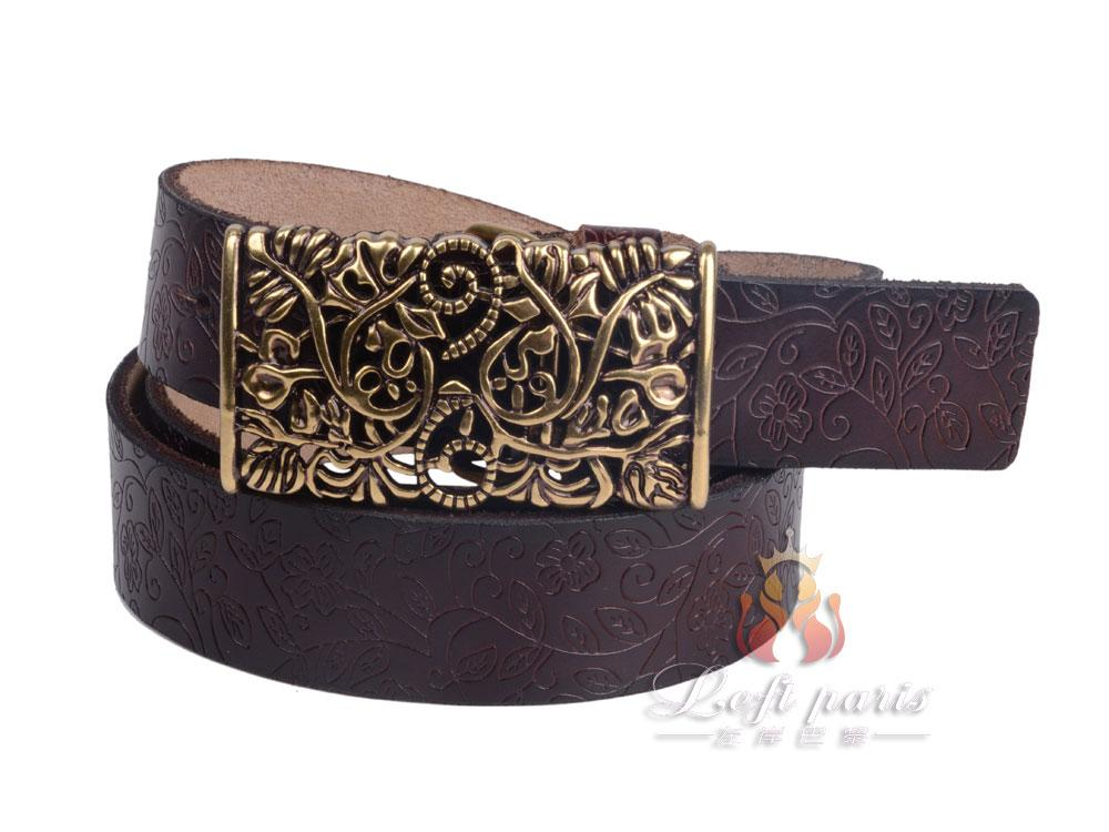 Women's Slide Buckle Belt