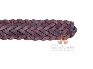 Black Basketweave belt