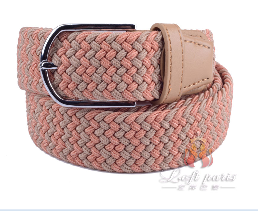 James Western Basketweave Ranger Belt