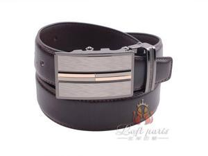 New Men genuine leather automatic buckle business belt