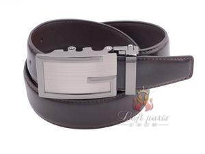New Fashion Men Genuine Leather Automatic Buckle Belt