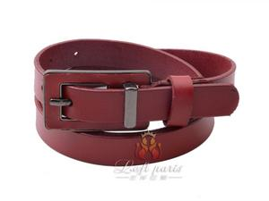 Lady Genuine Leather Casual Belt with Pin Buckle