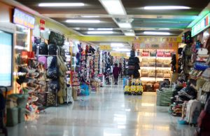 bags area in yiwu market district 2