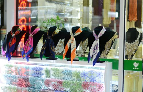 garment accessories in Yiwu market