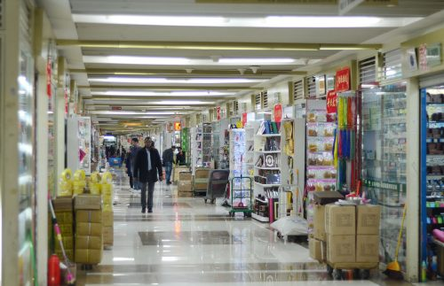 the stationery area in yiwu market