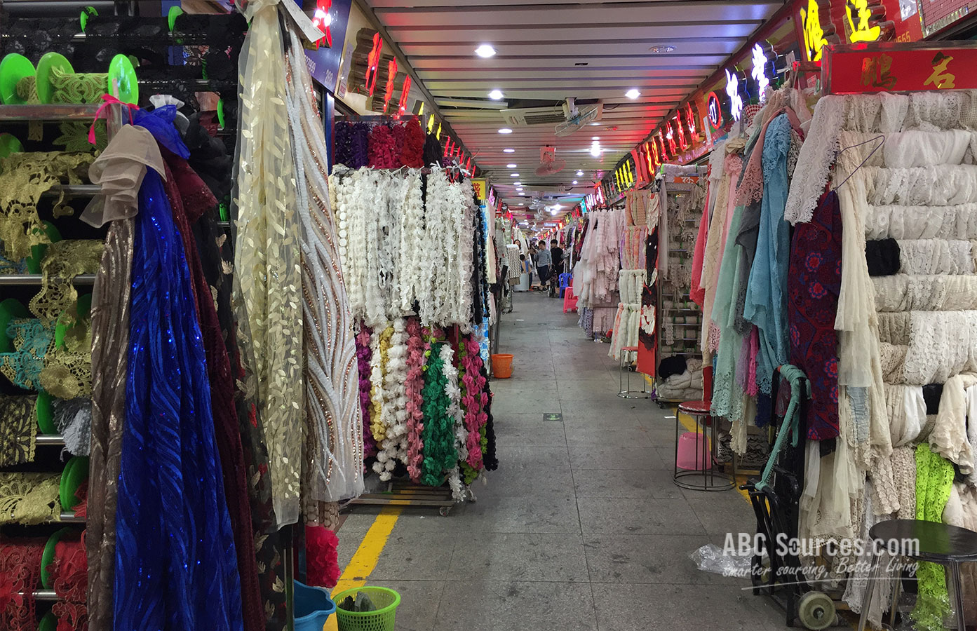 Guangzhou Ruikang Accessories Lace Market Abc Sources
