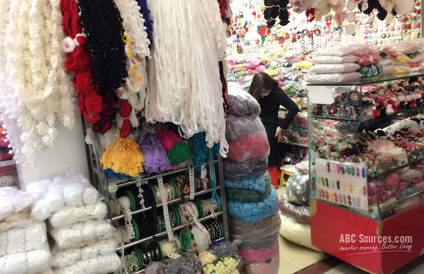 Guangzhou Changjiang Garment Accessories Plazaa Abc Sources